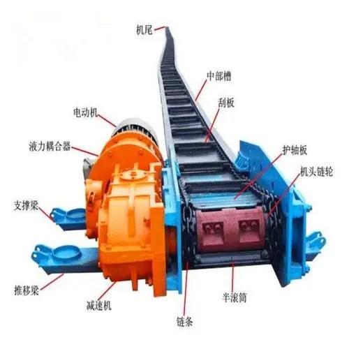 刮板输送机结构