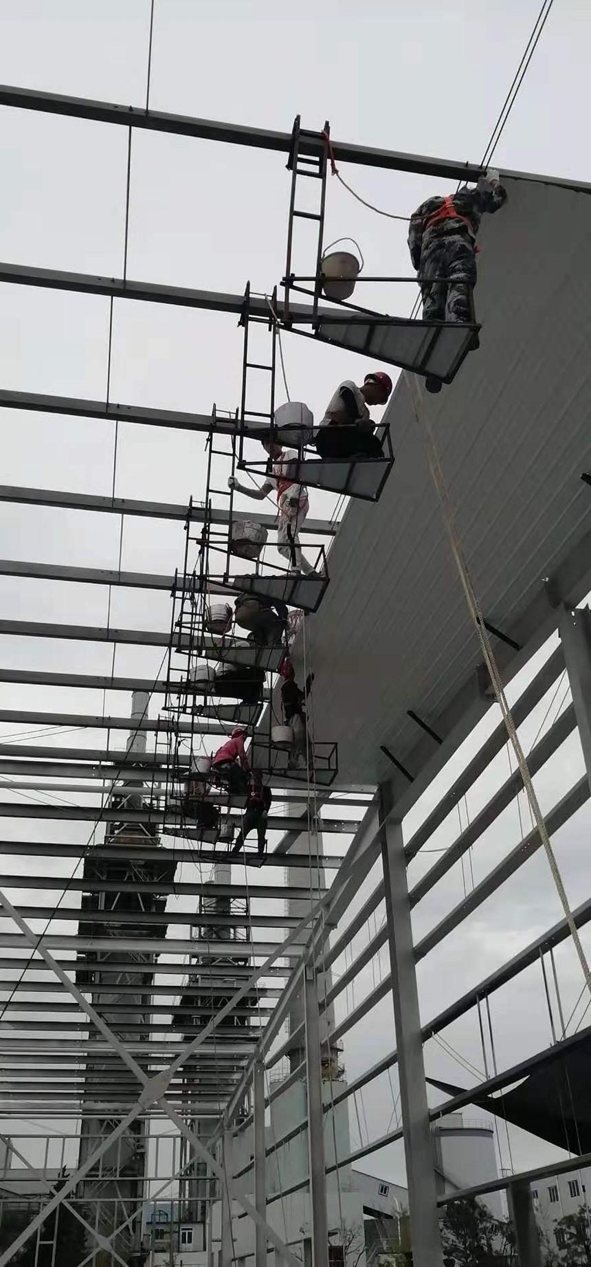 鋼結構安裝,反吊頂安裝.jpg