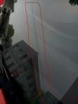 飞度汽车玻璃长裂缝修补结束