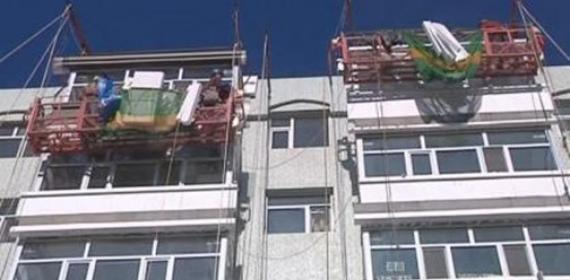 福州市某工厂外墙维修粉刷翻新工程