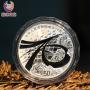 2019建国70周年 150克银币