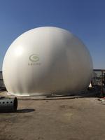 500立方沼气收集用双膜气柜
