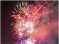 2019年广西柳州卡乐星球主题乐园献礼国庆70周年焰火表演