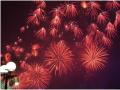 打开天空新色彩七一国际广场开业焰火秀