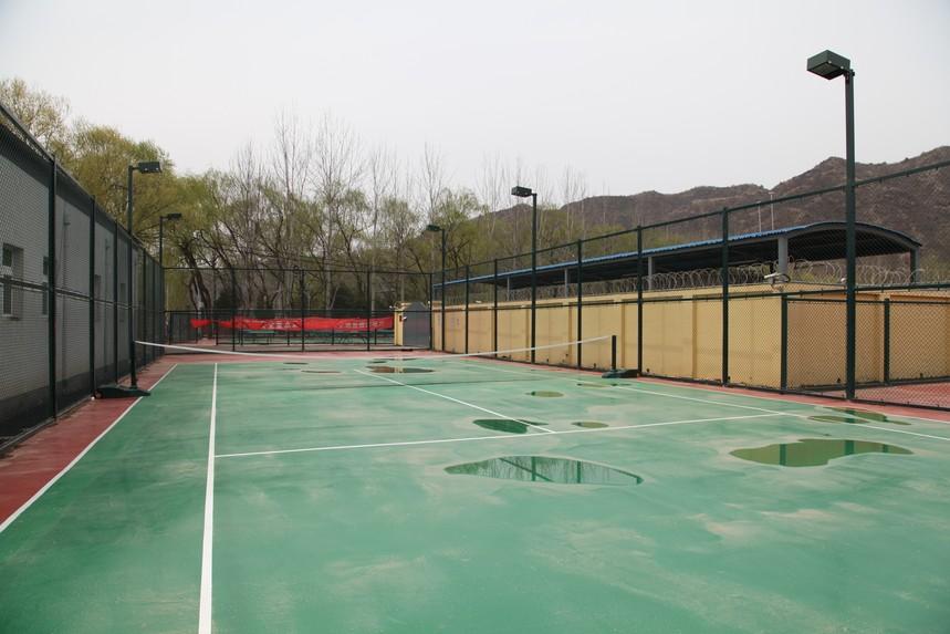 怀柔农家院打篮球场地