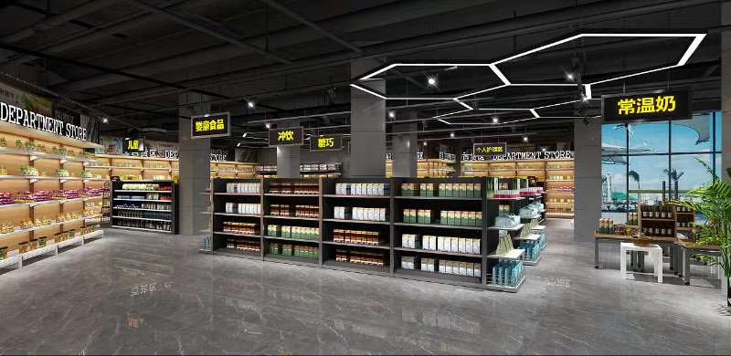 上海浙江江苏超市货架上门测量,设计,制作,安装一站式整体解决方案电话13506238489