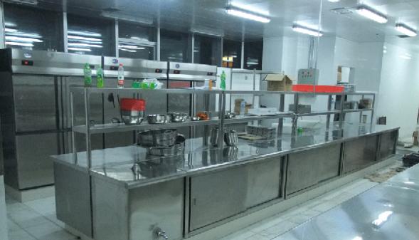 厨房设备安装工程效果图