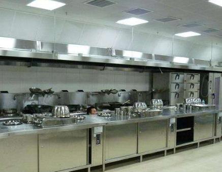 厨房设备厂家关于厨房设备安装的效果图