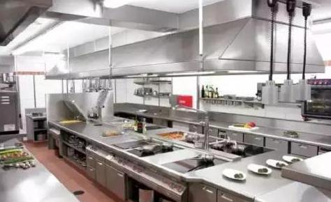 厨房设备安装效果图