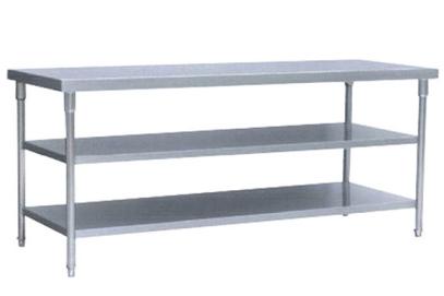 惠州不锈钢厨具台架 三层工作台
