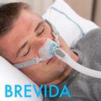 费雪派克Brevida CPAP睡眠呼吸机鼻枕面罩带头带