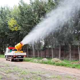 园林绿化车载风送式高射程喷雾机
