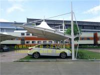 帽顶膜结构车棚