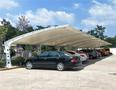 湖南制作小轿车停车棚白色雨棚的材料和价格