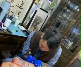 柳州纹身阿里纹身视频