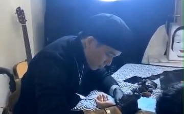 柳州纹身阿里纹身视频展示