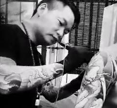 柳州纹身阿里纹身视频欣赏-雷神