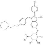 CAS:328933-56-8;Bazedoxifene葡萄糖醛酸