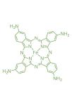 CAS:95100-27-9;iron(II);2,9,16,23-tetra(amino)phthalocyanine