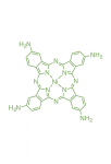 CAS:27680-33-7;nickel(II);2,9,16,23-tetra(amino)phthalocyanine