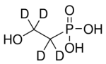 (2-Hydroxyethyl-d4)phosphonic acid