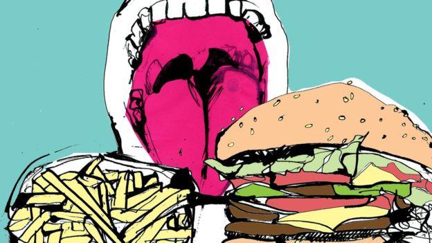 汉堡和巧克力的饮食会影响你的肥胖风险,以及在你消化道里生长的微生物类型。