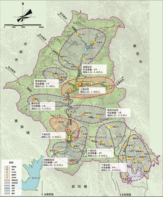 下港小伙伴在哪里?你们镇总体规划正在公示!打造八大功能区,以旅游服务业、特色农业为主
