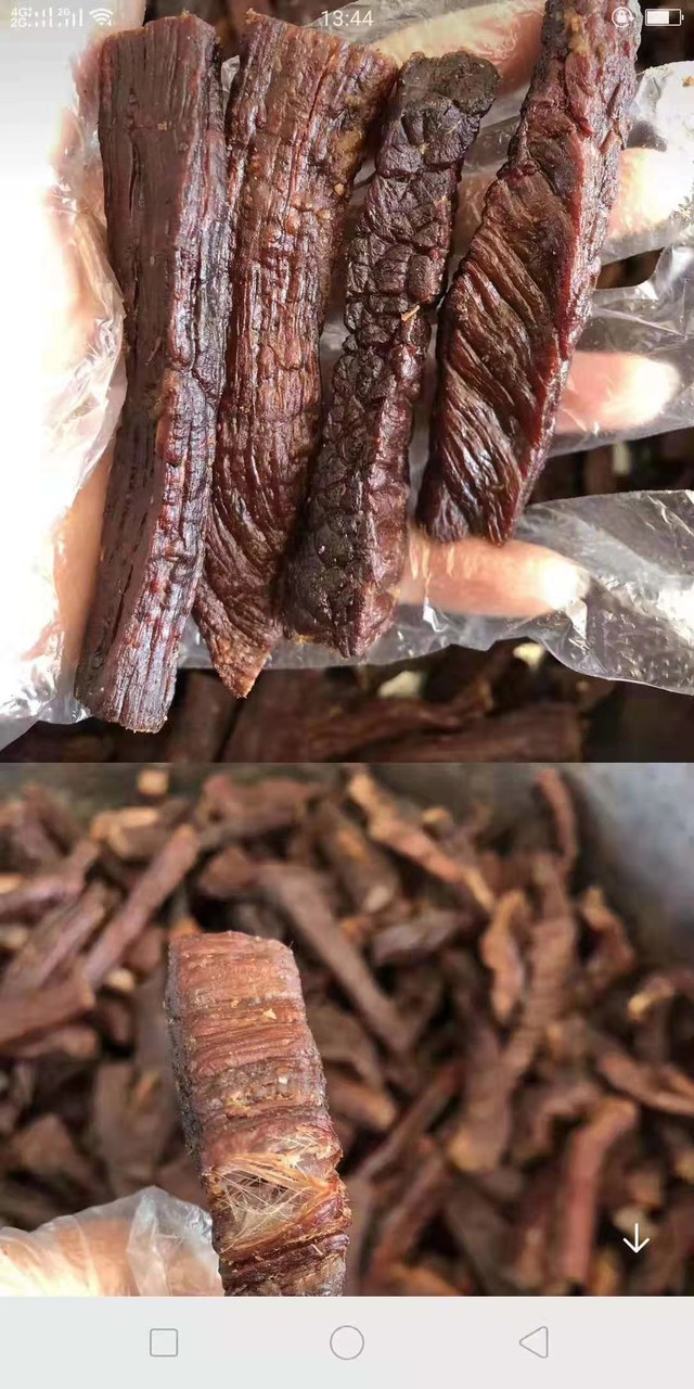 科尔沁黄牛牛肉干碳烤味,油炸原味,辣味孜然味,独立包装纯风干