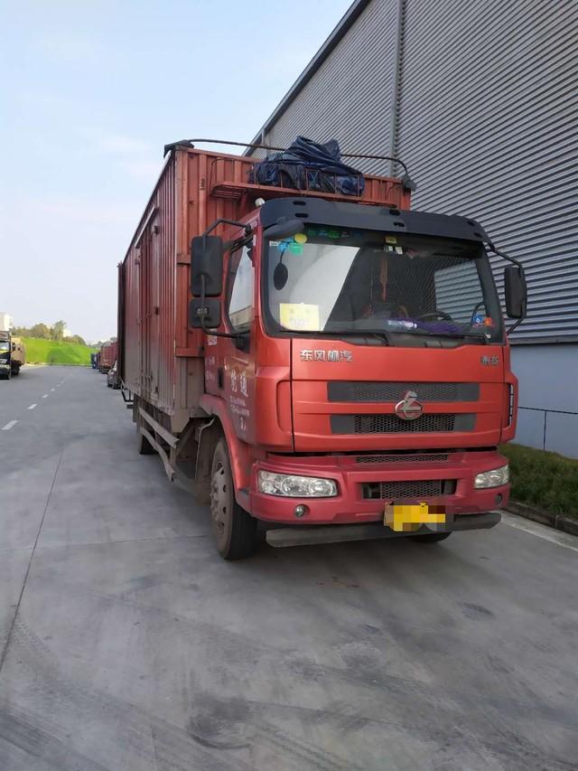 本人现有厢式货车东风柳汽乘龙7米6车带业务转让,厂家业务充足 ,