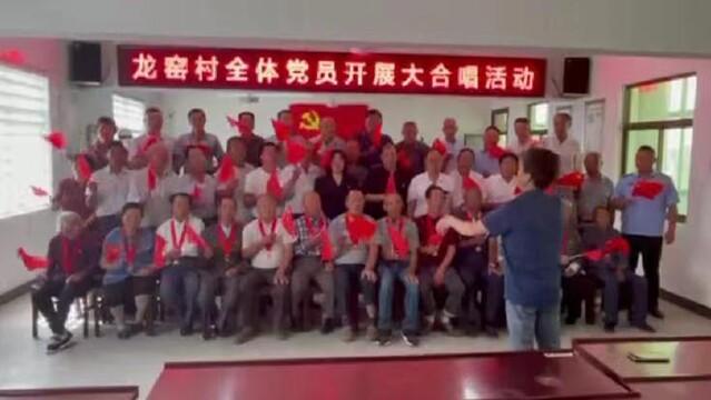 盐城市大丰区西团镇龙窑村: 举办庆祝中国共产党成立100周年系列